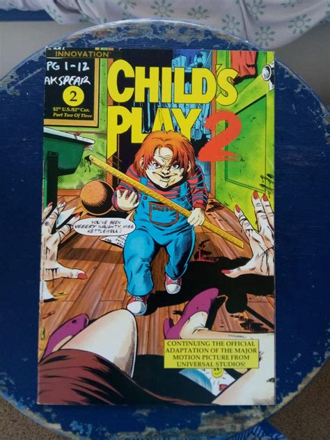 I have the child's play 2 comic