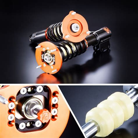 Banracing Coilovers BMW 3-serie E46 6 CYL årsmodell 1998-2005