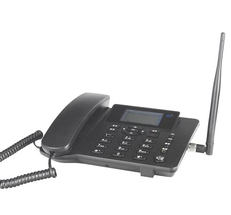 Best 4G LTE wireless home office phone with LAN and sim