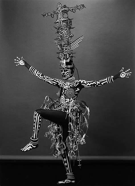 Untitled (body painting) | Keith Haring