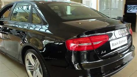 The New 2013 Audi A4 Black Edition - YouTube
