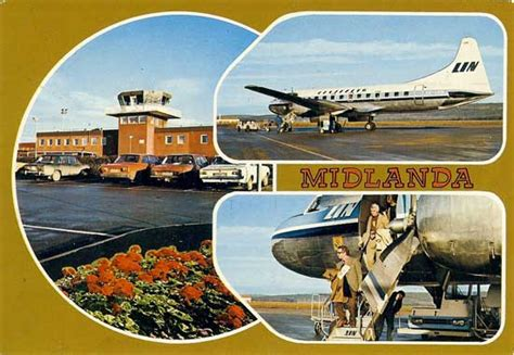 Famgus Aviation Postcards: Airports in Sweden