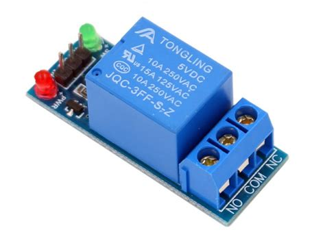 1-Channel Relay Module-10A   Makerfabs