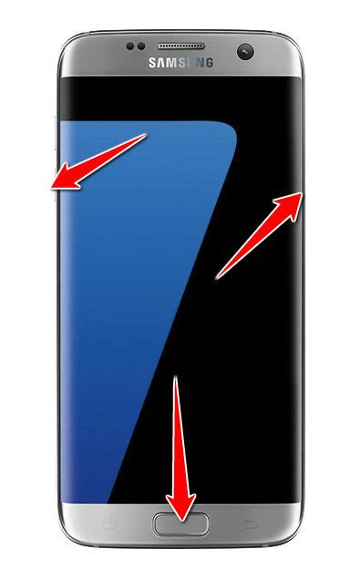 How to put Samsung Galaxy S7 edge in Download Mode