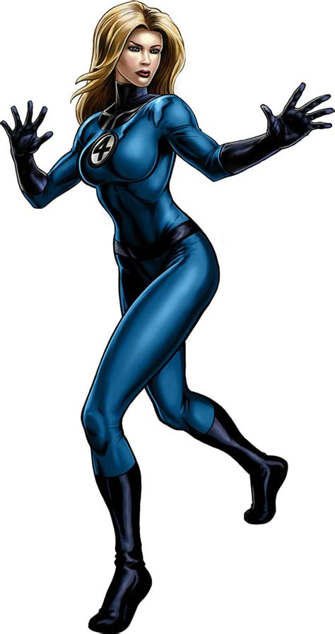 Invisible Woman - Marvel Comics - Fantastic Four - Early