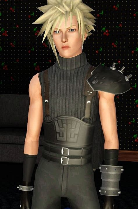Mod The Sims - Cloud from Final Fantasy 7