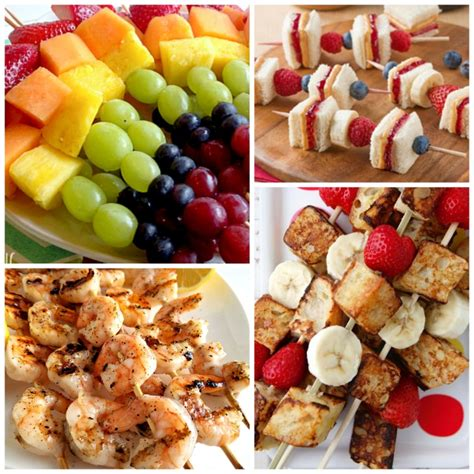 Kabobs For Kids   What Can We Do With Paper And Glue