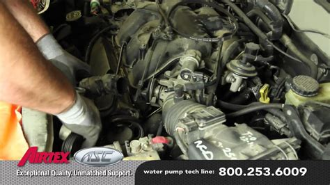 How to Install a Water Pump - Ford 3