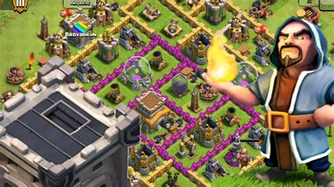 My Clash Of Clans Base Design! - YouTube