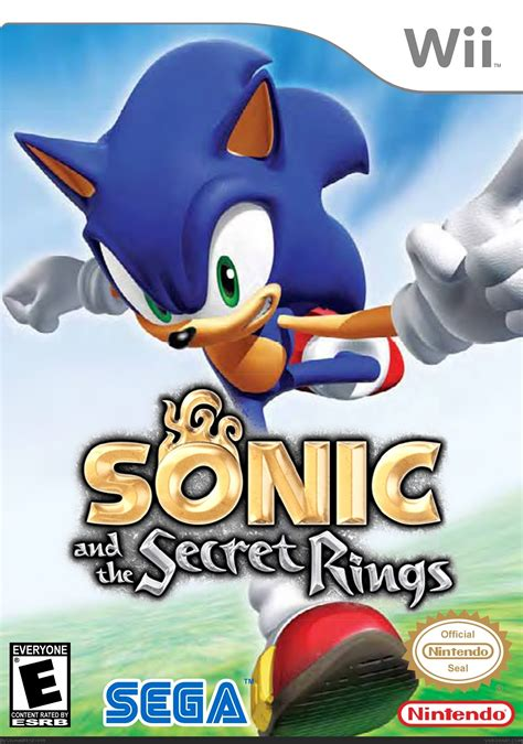 Sonic and the Secret Rings Wii Box Art Cover by Uzumaki83