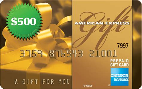 Thursday Giveaway: $500 American Express Gift Card – The