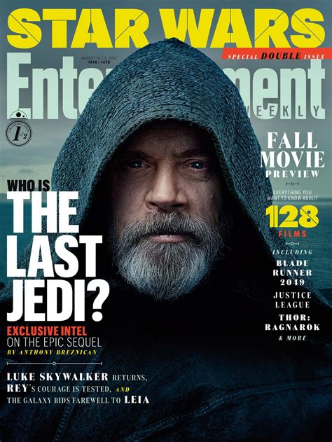 Mark Hamill and Daisy Ridley Grace Cover of Current Issue