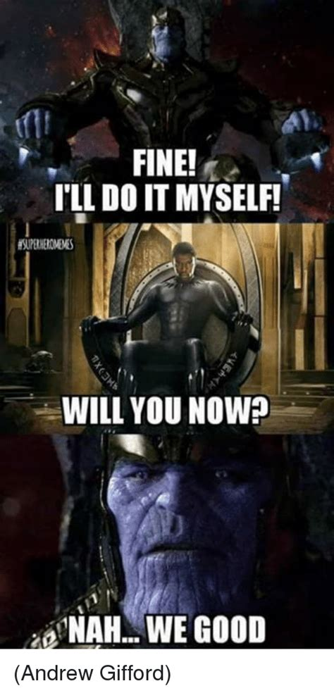 28 Funny Thanos Memes That Don't Make Him So Dark And