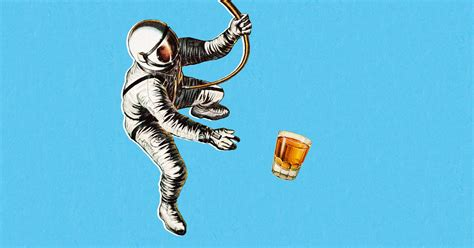 Can You Make Alcohol in Space?   WIRED