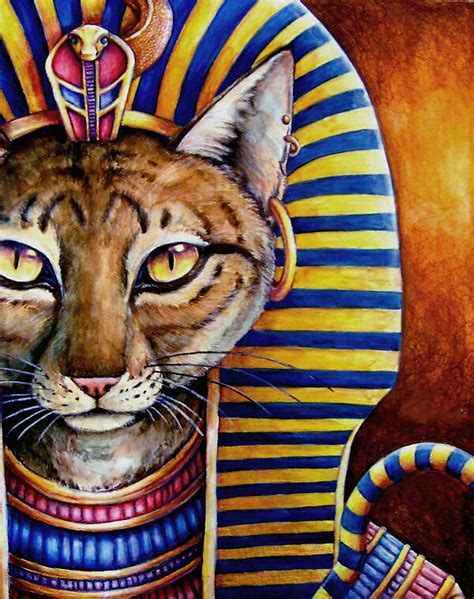 """""""The Cat of the Pharaoh"""" by StacyW 