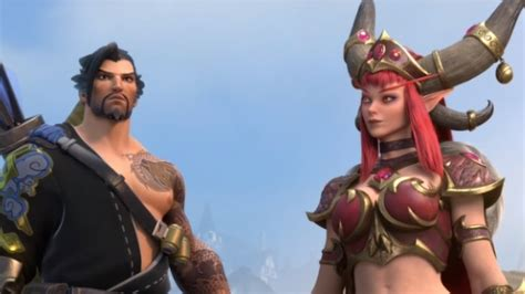 Hanzo and Alexstrasza revealed for Heroes of the Storm in