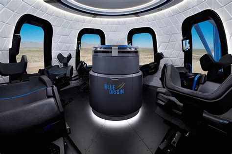 Climb aboard Blue Origin's rocket for a (simulated) space ride