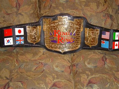 WWF King of the Ring Belt | Championship Strap's