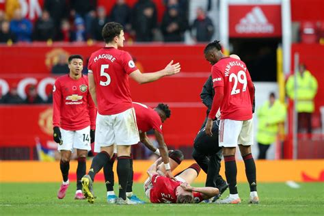 Manchester United players ready to return from injury