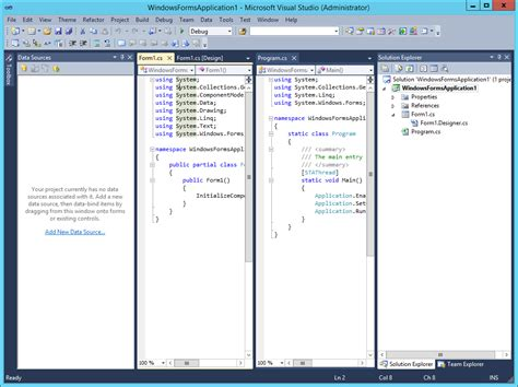 Review on Visual Studio Themes — dockpanelsuite 3