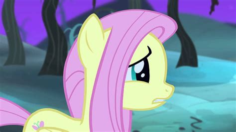 Fluttershy turned into a Vampire Pony! (or did she