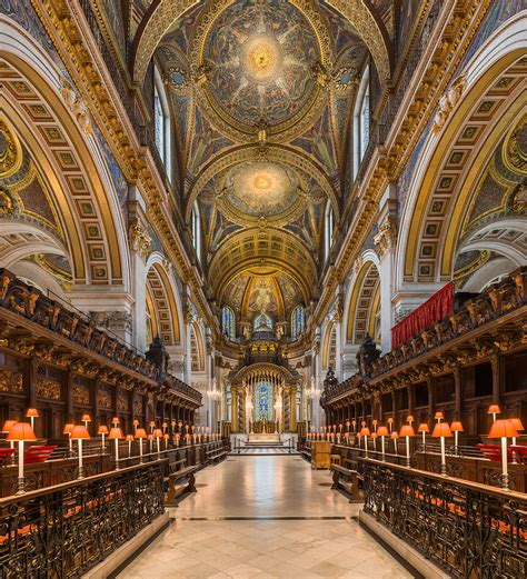 File:St Paul's Cathedral Choir looking east, London, UK