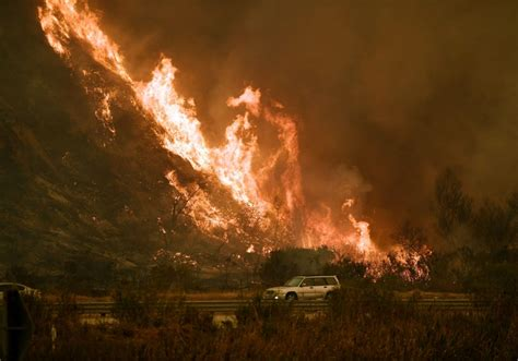 High Winds Exacerbate Wildfire Danger In Southern