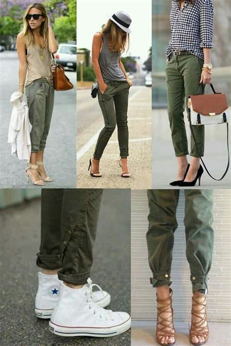 Verde olivo | Fashion, Casual outfits, Casual