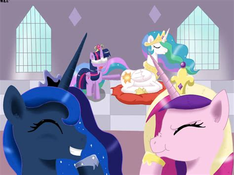 Alicorn Club Initiation (Butt Touch)   My Little Pony