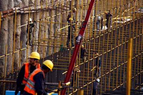 China Construction Site Accident Kills Many As Scaffold
