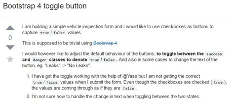 Bootstrap Buttons Example