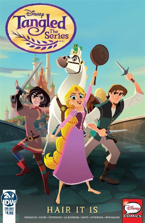Comic Book Preview - Tangled: The Series: Hair It Is