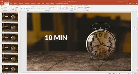 How to Use a Timer in PowerPoint: by Kurt Dupont