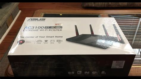 Asus AC3100 RT-AC88U / RT-AC88R Router Unboxing & Setup