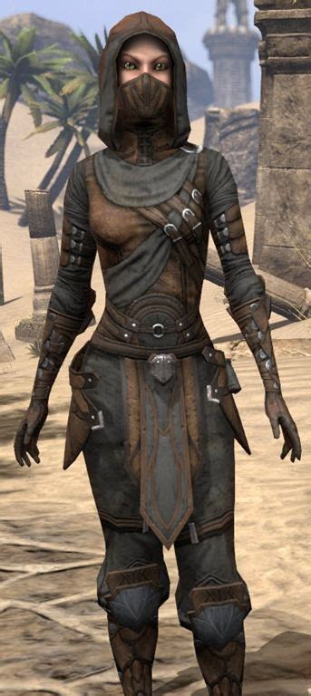 Thieves Guild Leathers - Female Close Front | The Elder